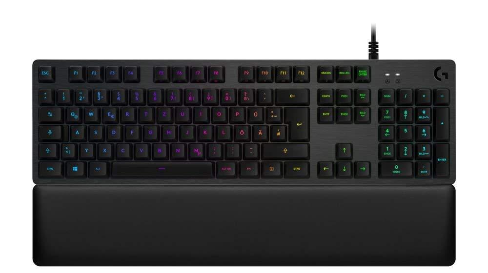 Logitech G513 Gaming-Tastatur beste leise Tastatur