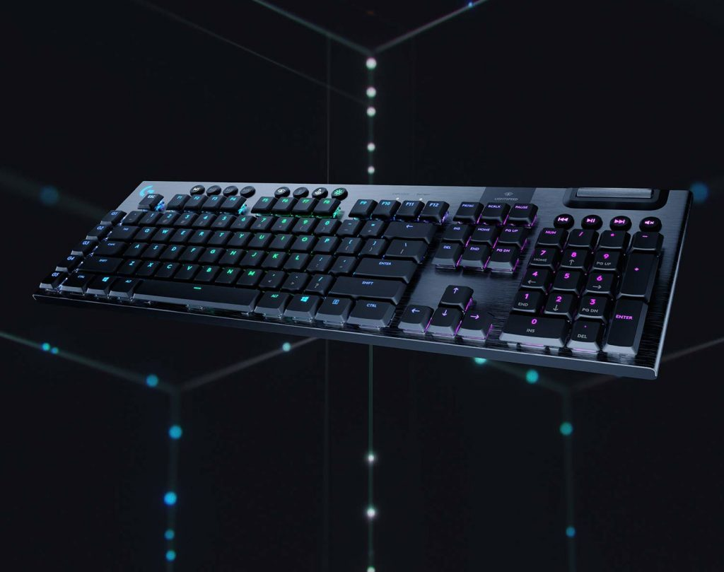 Logitech G915 Tastatur - Beste Wireless Tastatur 2020