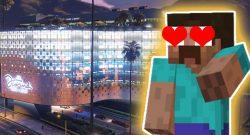 GTA Online Minecraft Casino Titel