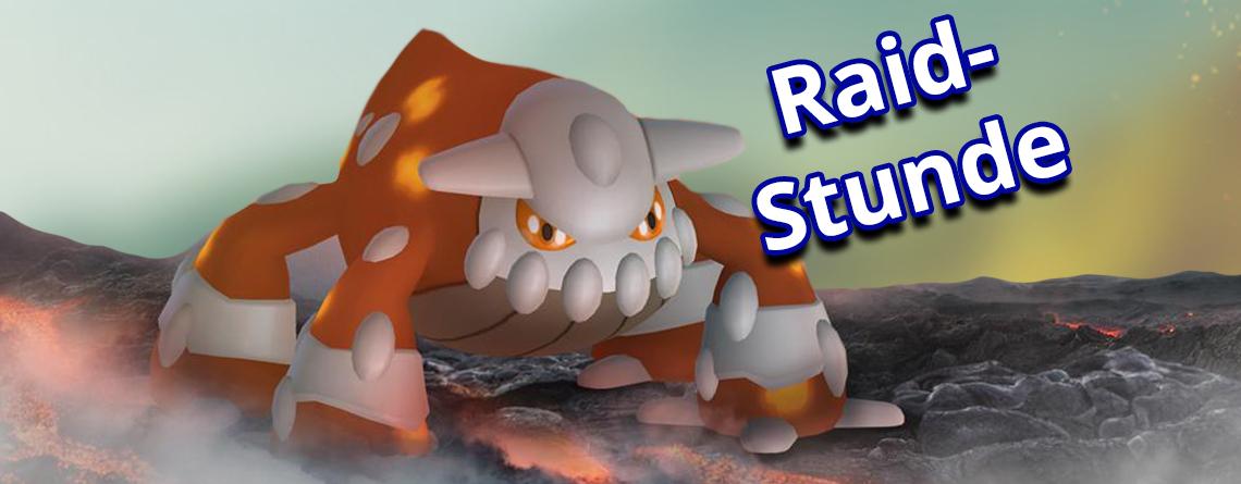 Pokémon GO startet heute Raid-Stunde mit Heatran – Alle Infos