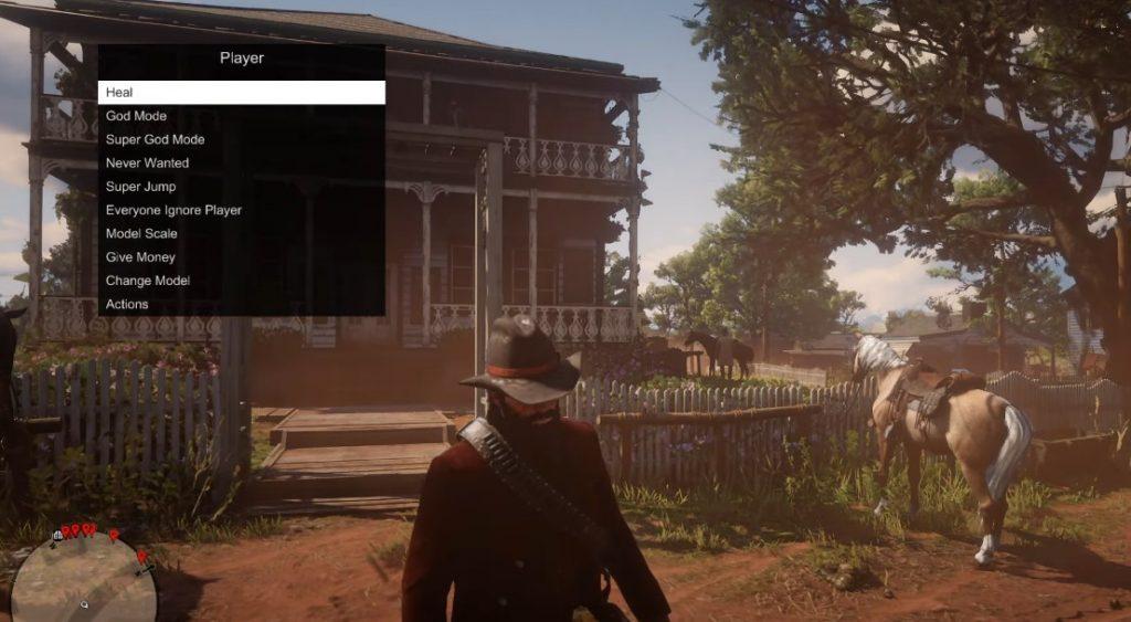 Red Dead Online Mod Menü