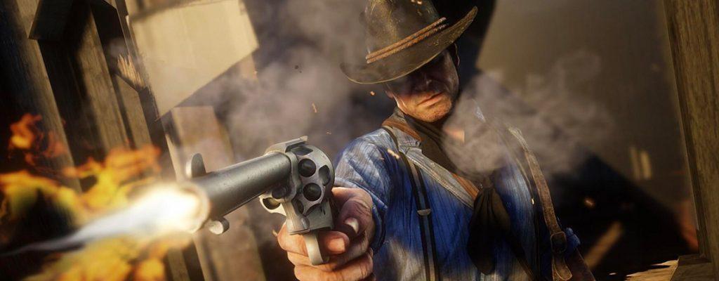 Red Dead Redemption 2 Arthur Schuss Revolver Titel