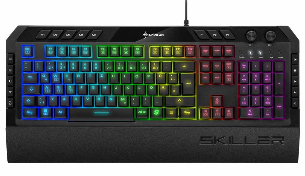 Sharkoon Skiller Gaming Tastatur - Beste Tastatur 2020 unter 50 Euro