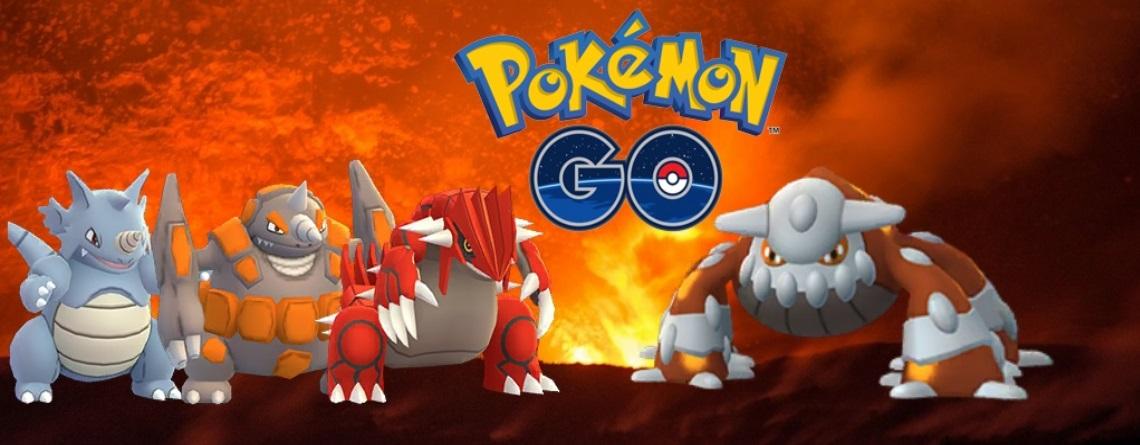 Pokémon GO: Dies sind die besten Konter gegen Heatran im Raid