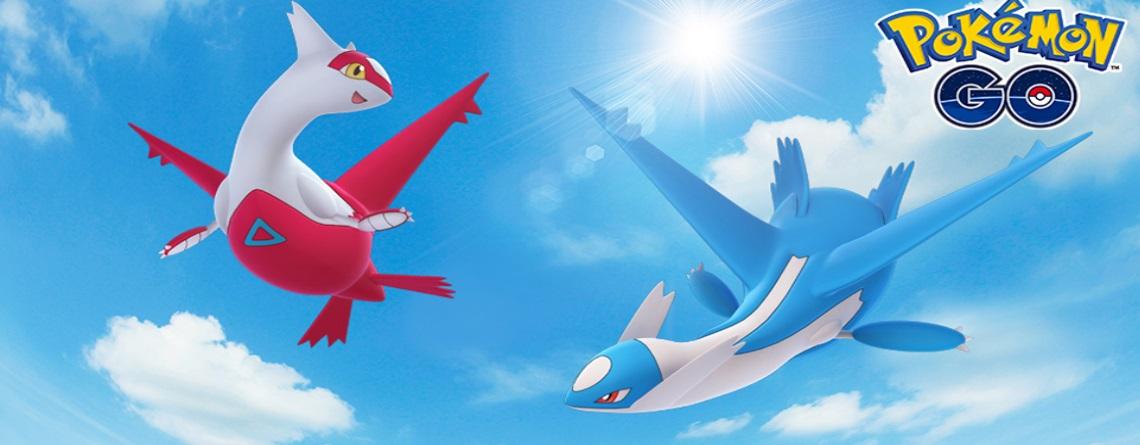 Latias und Latios kommen zurück zu Pokémon GO – Aber nur kurz