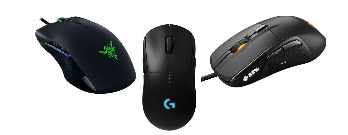 Die besten Gaming-Mäuse für MMOs – Stand: 2020