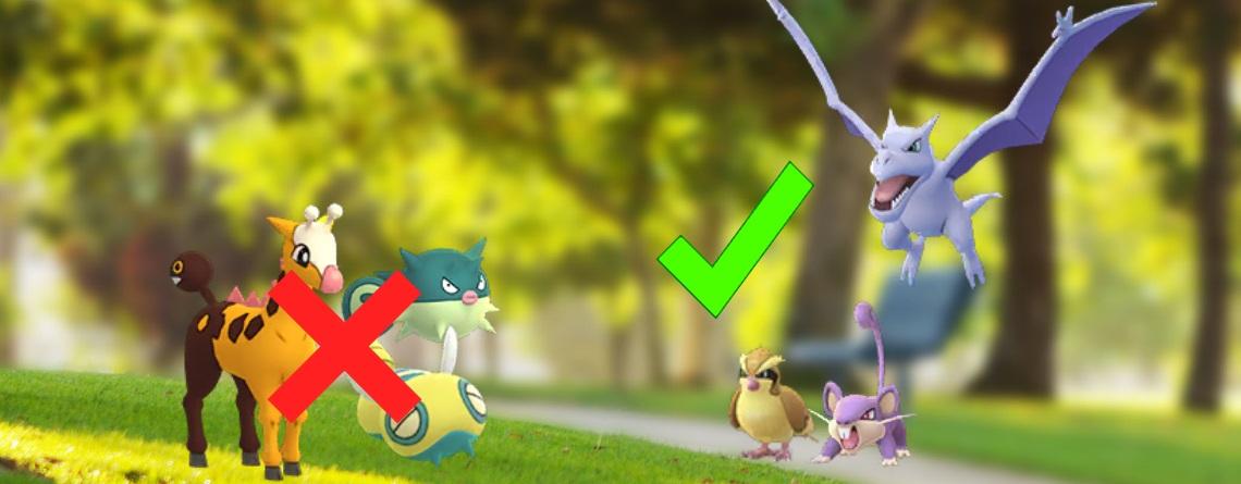 Nester in Pokémon GO sind jetzt total nutzlos, dabei waren sie früher so wichtig