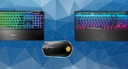 SteelSeries Rival 3, Apex 3 und Apex 5 sind neue Geräte 2020