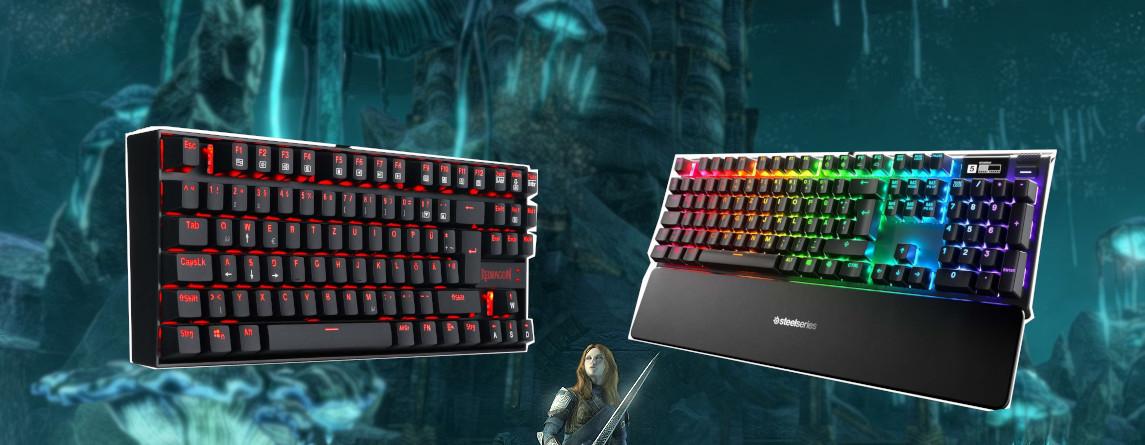 Die besten Gaming-Tastaturen, die ihr 2020 kaufen könnt