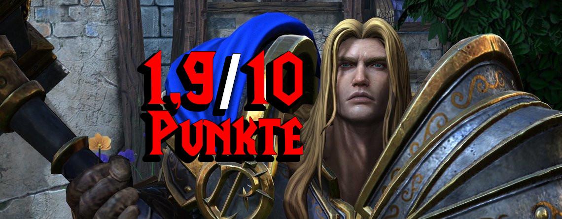 Warcraft III: Reforged bekommt 2/10 Punkten – Was zur Hölle ist da passiert?