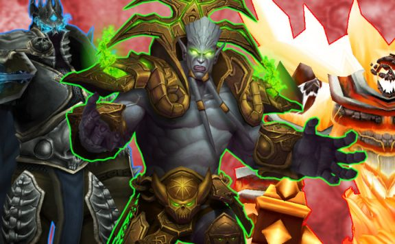 WoW Bosses Ragnaros Lich King Archimonde title 1140x445