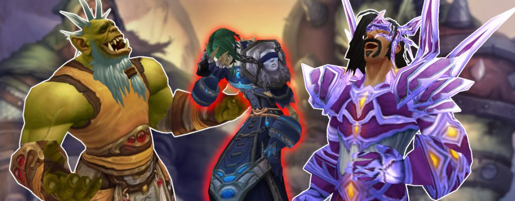 WoW Orcs Human Laughing undead crying title 1140x445