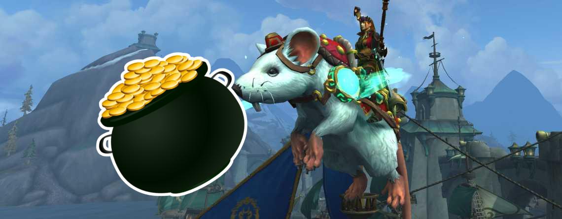 So kauft ihr das neue Ratten-Mount in WoW mit Gold und spart 25€