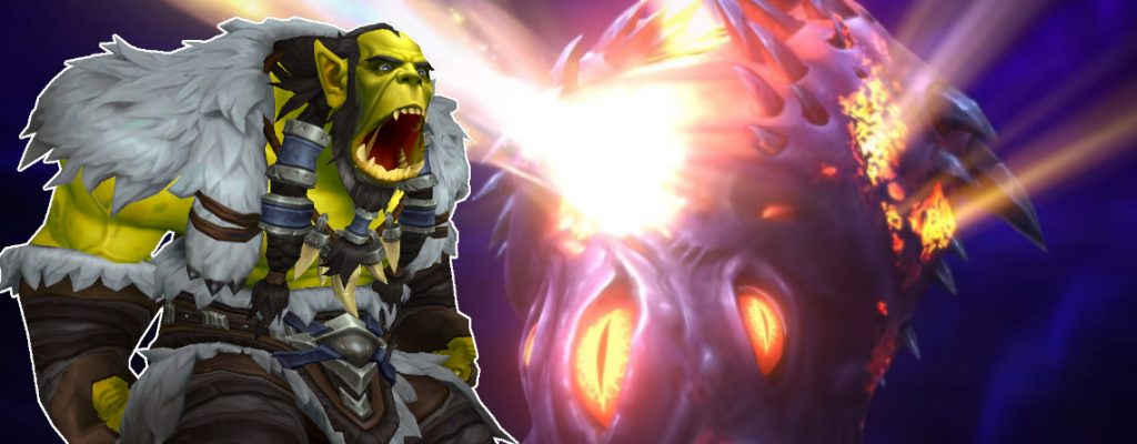 WoW Thrall angry Nzoth title 1140x445
