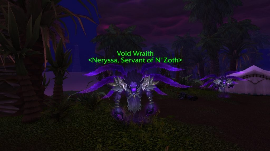 WoW Void Wraith riddle