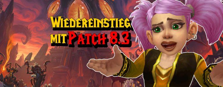 WoW Wiedereinstieg Patch 83 title 1140x445