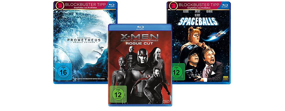Amazon Angebot für Filmfans: 10 Blu-rays für nur 50 Euro kaufen