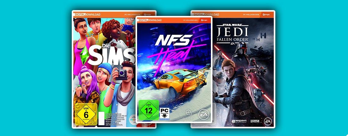 EA PC-Spiele wie Sims 4 & Star Wars im Amazon Angebot stark reduziert