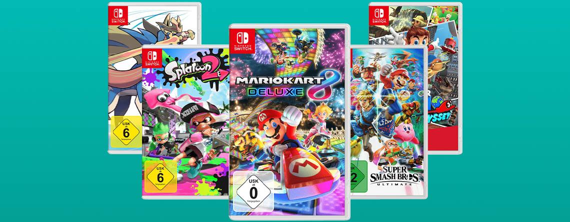 3 Nintendo Switch-Spiele für 111 Euro: Amazon zieht beim Angebot nach