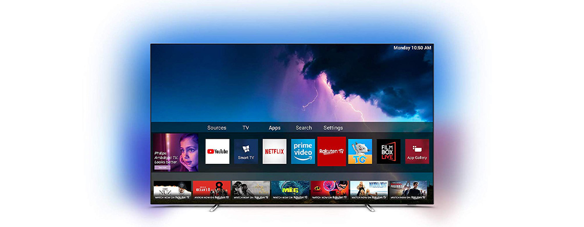 Amazon Angebote: Philips Ambilight OLED 4K TV zum Spitzenpreis
