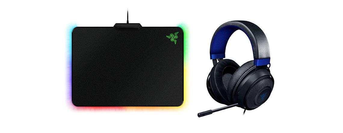 Amazon Angebot: Razer Kraken Gaming-Headset & Mauspad günstiger