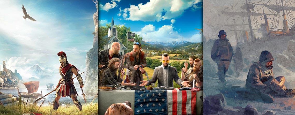 Top-Spiele von Ubisoft im Winter Sale bei Amazon günstiger kaufen