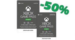 Amazon Angebote: 50% Rabatt auf 6 Monate Xbox Game Pass Ultimate