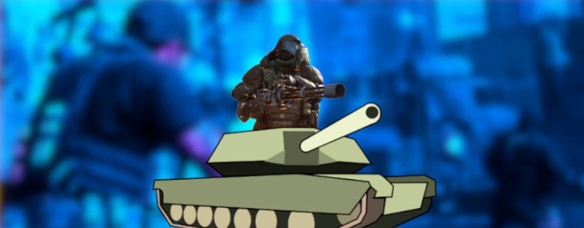 CoD MW: Panzer fahrender Juggernaut terrorisiert Spieler