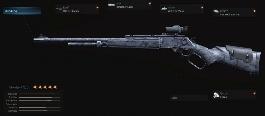 cod modern warfare waffen mk2 karabiner marksman build