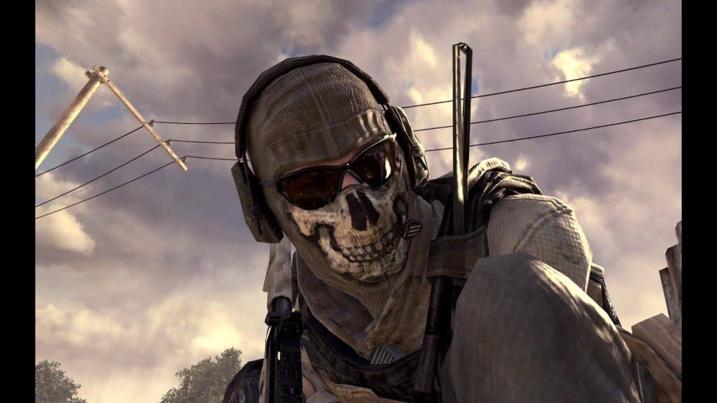 cod modern warfare mw2 ghost