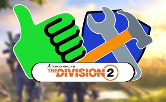 division 2 rekalibrierung titel