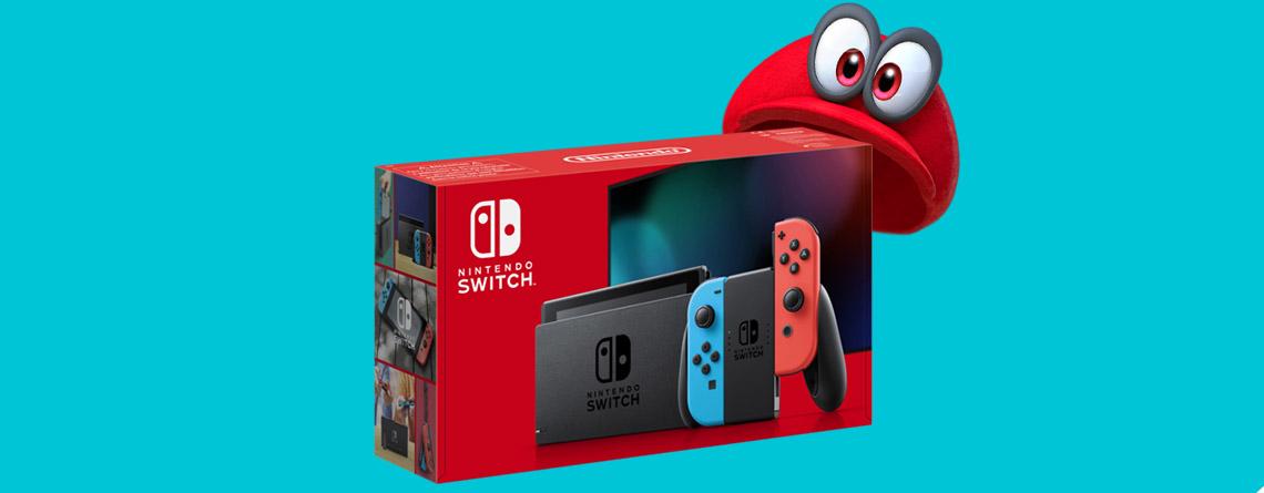 Nintendo Switch im ebay-Angebot zum Spitzenpreis von nur 278 Euro