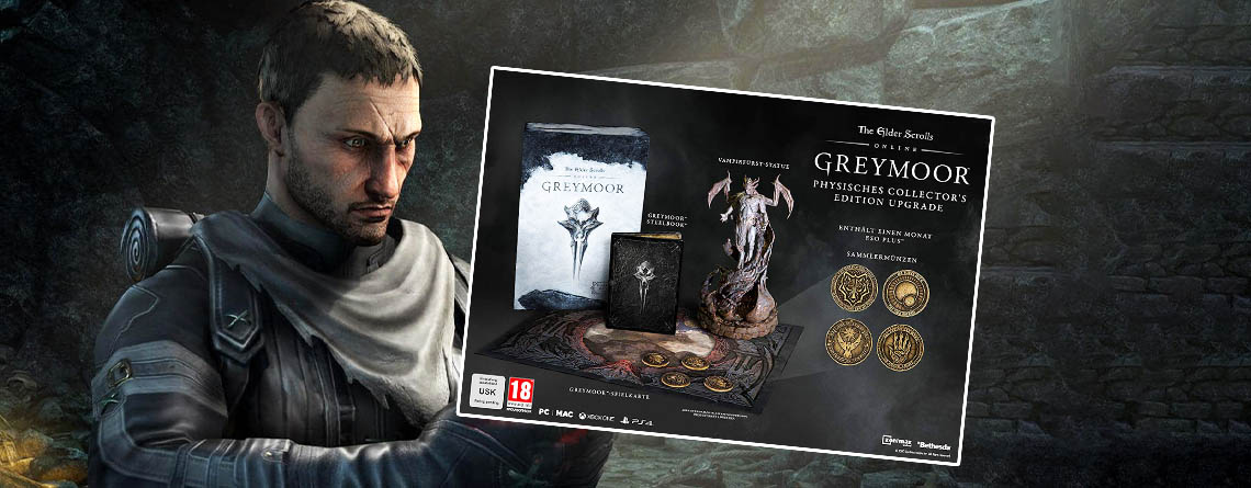 The Elder Scrolls Online: Greymoor – Jetzt Collector's Edition vorbestellen