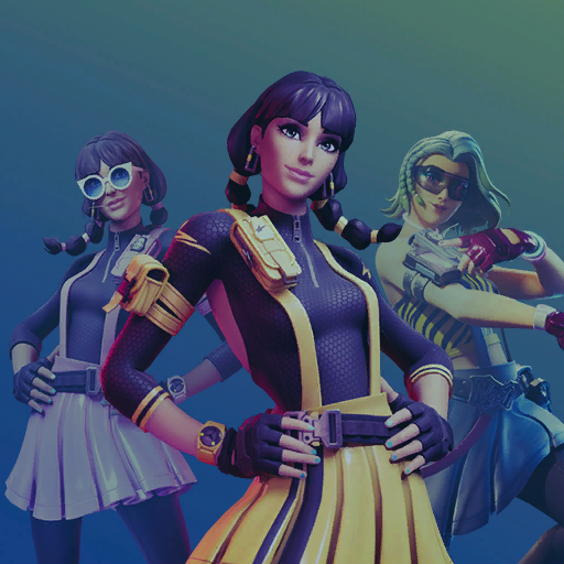 fortnite-chic-gelb