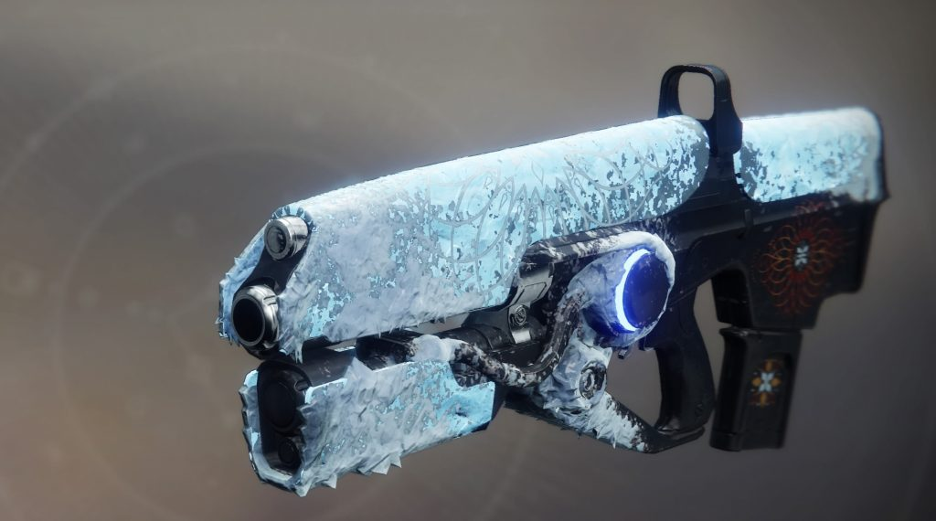 Hartes Licht mit winterlicher Optik in Destiny 2