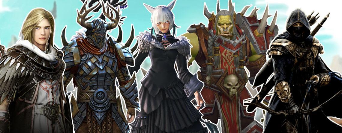 Top-MMORPGs 2020: Hier stehen WoW, FF14, ESO, GW2 und BDO