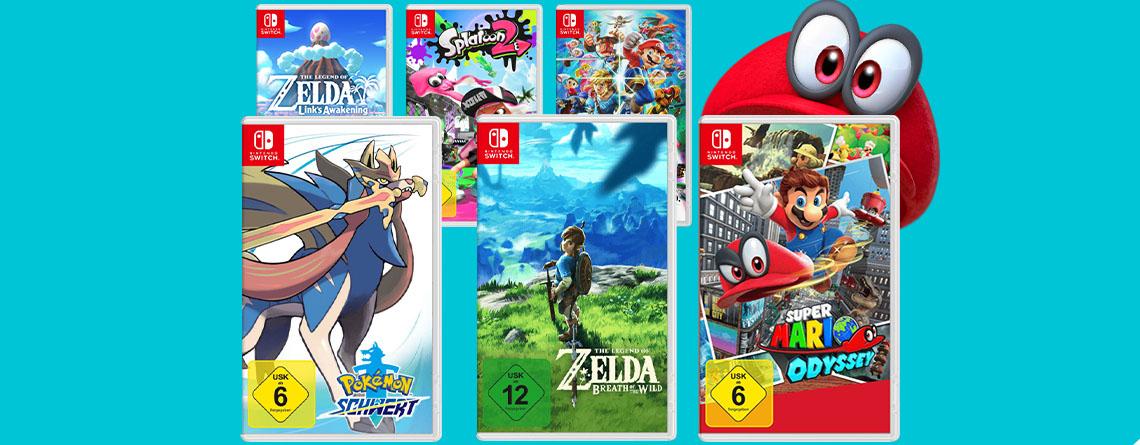 Nintendo Switch Angebot: 3 Spiele für 111€ bei MediaMarkt kaufen