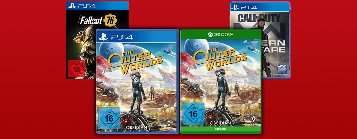 MediaMarkt Angebote: The Outer Worlds für PS4 & Xbox One für 25 Euro