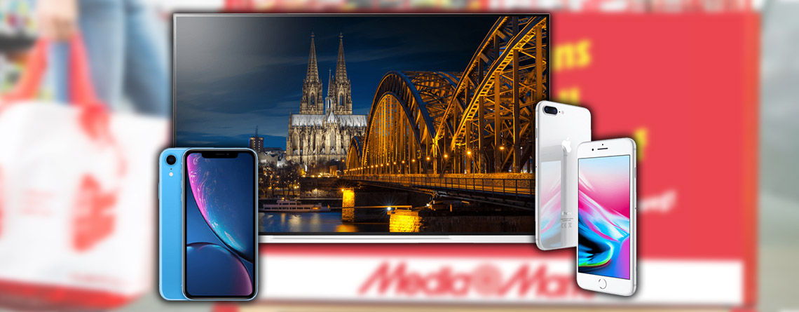 MediaMarkt WSV-Angebot: iPhone 8 Plus & LG OLED 4K TV zum Bestpreis