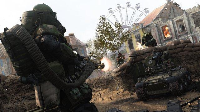 CoD Modern Warfare Kampf