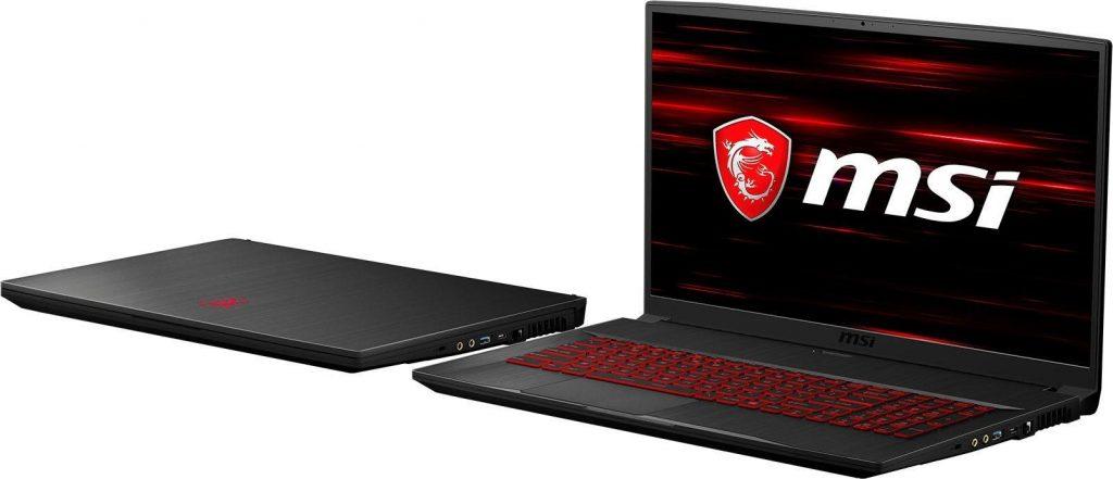 MSI GF75 Thin Gaming-Notebook.