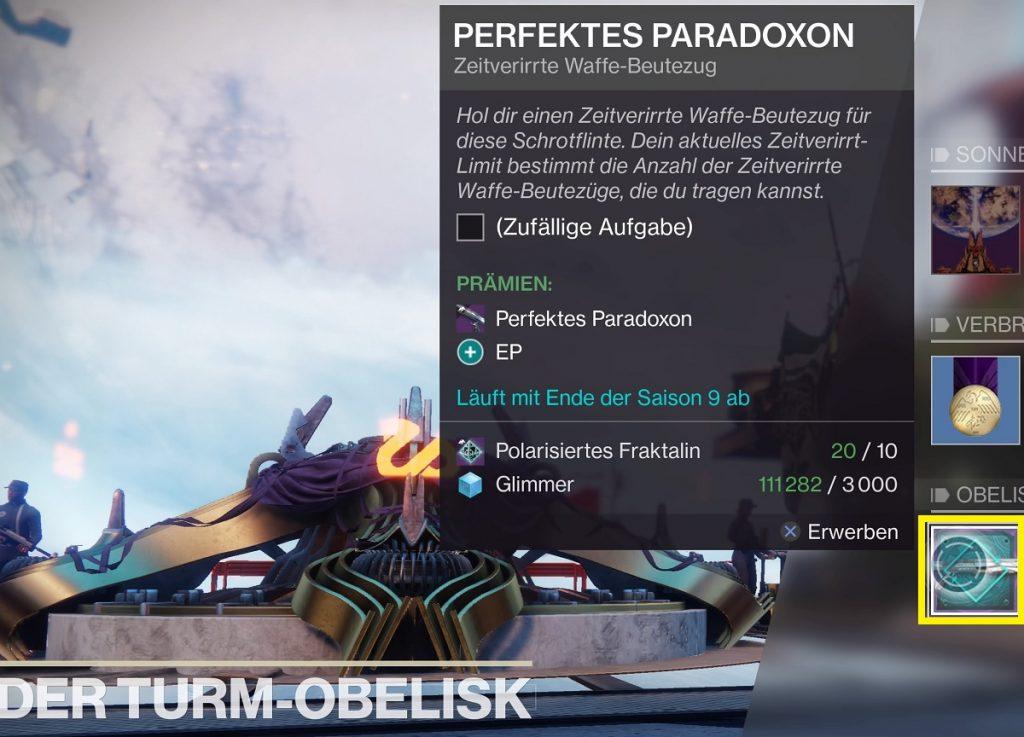 turm obelisk destiny shotgun destiny