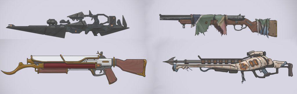 Waffen-Entwürfe - Quelle: NikkoJT