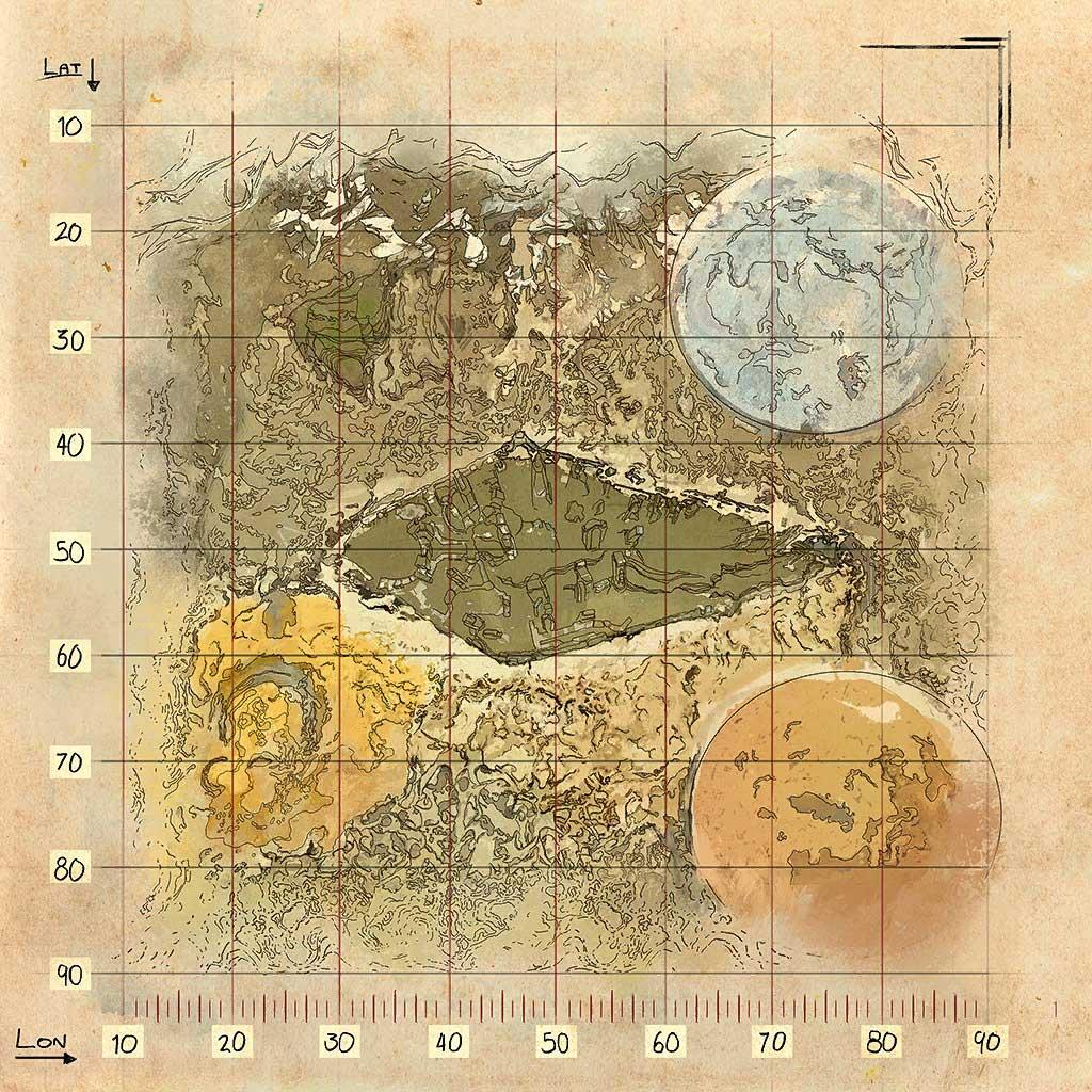 ARK-Extinction-Map
