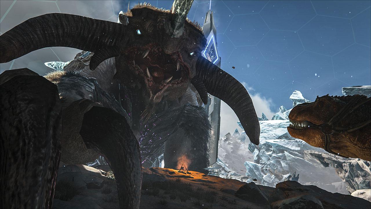ARK-Extinction-Frost-Titan
