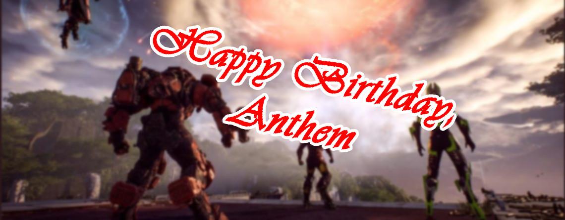 Anthem hat Geburtstag und seine letzten, aktiven Spieler feiern es – irgendwie