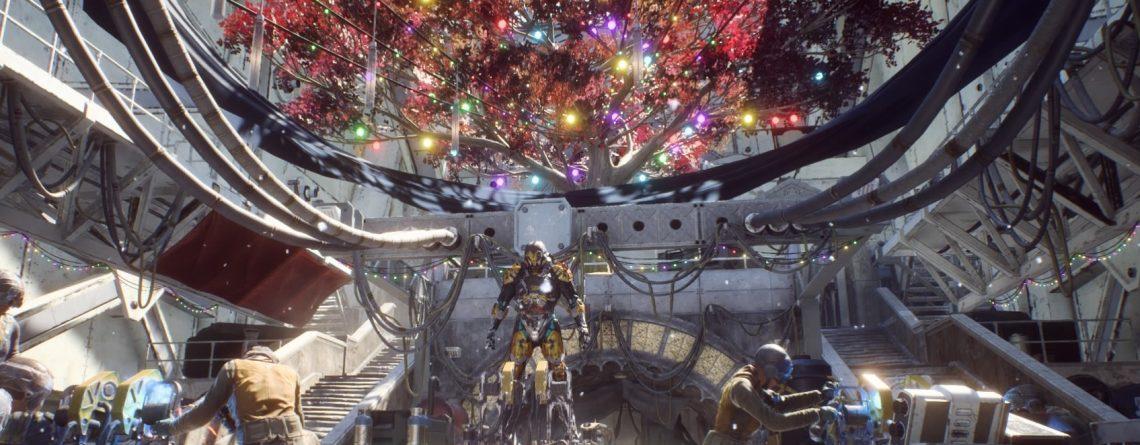 Anthem wird als totes Spiel verspottet, weil der Weihnachts-Schmuck noch hängt