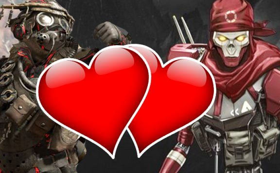 Apex Legends Valentinstag Herzen Titel