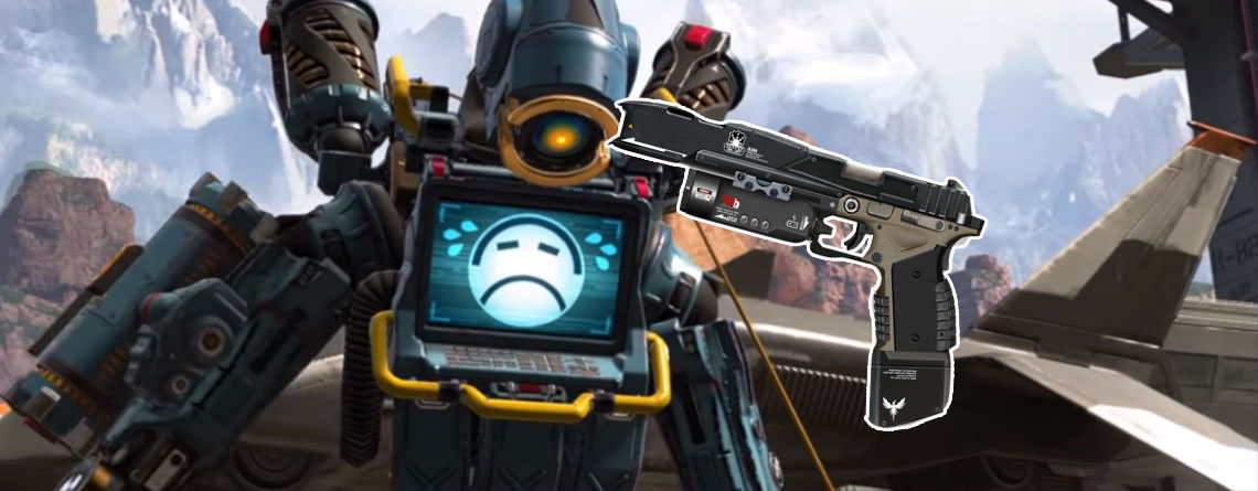 Eine der schrecklichsten Titanfall-Waffen kommt zum Glück nicht zu Apex Legends