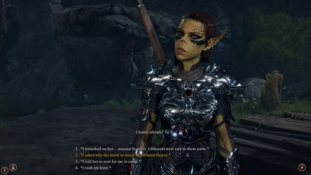 Screenshot aus Baldur's Gate 3